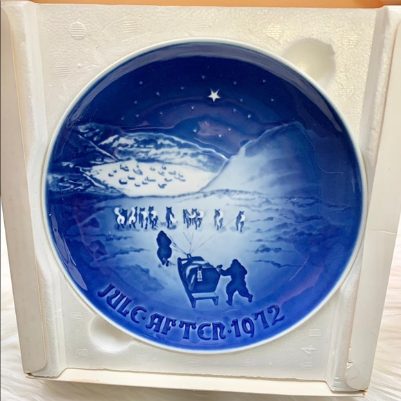 Christmas in Greenland 1972 Plate